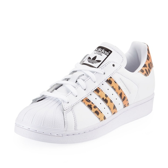 NIB Adidas Superstar Leopard Sneakers Women's 6.5